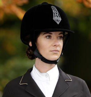 Rambo Velour Helmet Black - Rambo Helmet Collection - Horseware