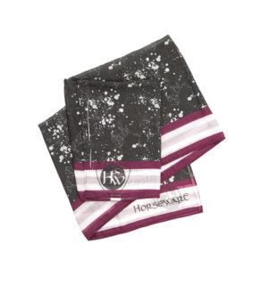 Printed Horse Scarf Galaxy Print, limited edition exclusive to Horseware.