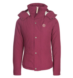 Brianna Riding Jacket Berry, perfect winter riding jacket