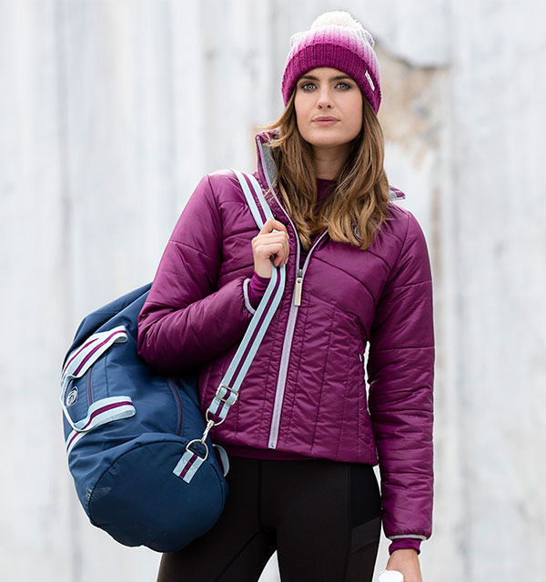 NEW Eve Padded Jacket | Riding Tights | Sports Bag | Ombre Hat