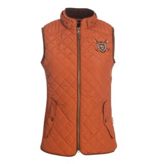 Heritage Gilet - Fabulous on trend design with cool suede trims