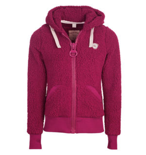 Super Fluffy Softie Berry, with fun large zips - Horseware Ireland