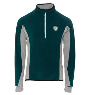 Fiona Half Zip Fleece Storm Green