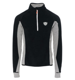 Fiona Half Zip Fleece Raven