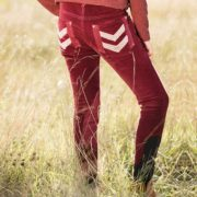 Kids Corduroy Breeches Wine - Kids Collection