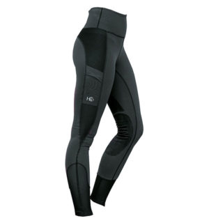 HW Riding Tights Charcoal - Ladies Collection - Horseware Ireland