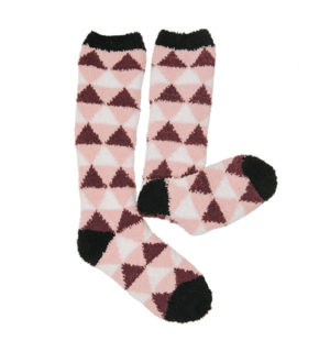 Softie Socks Garnet Triangle