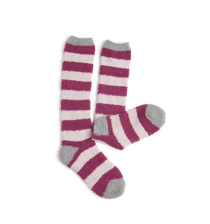 Softie Socks Berry Stripe for kids and women - Horseware Ireland