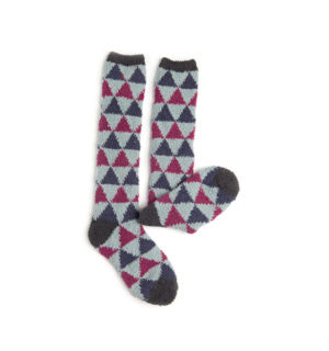 Softie Socks Berry Triangle for kids and women - Horseware Ireland