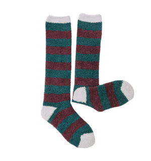 Softie socks Garnet Stripe