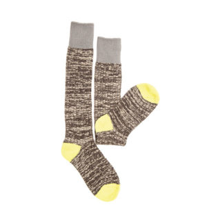 Winter Woolly Socks Pewter - Ladies Collection