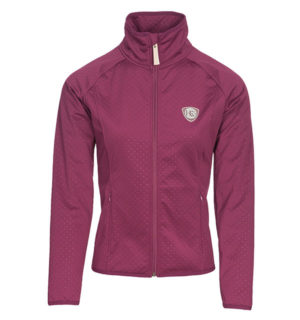 Alby Technical Softshell Berry, practical and stylish