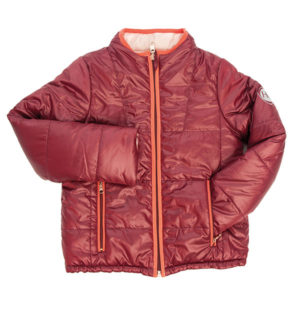 Reversible Kids Jacket Wine / Pink, two ways to wear ! - Kids Collection