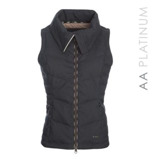 Pavia Padded Gilet Navy - AA Platinum Collection - Horseware Ireland