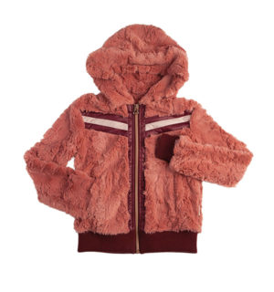 Super Lux Faux Fur Hoody, luxurious look and feel - Kids Collection