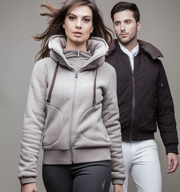 Gorizia Warm Lady Fleece Stone Grey - AA Platinum Collection
