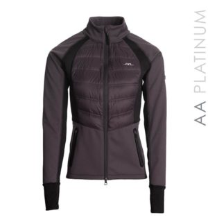 Imola Lady Fleece Dark Charcoal, water resistant and snow-proof !