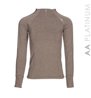 Massa Exercise Top Brown Melange - AA Platinum Collection