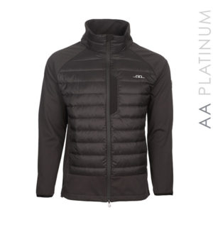 Pesaro Padded Fleece Black - AA Platinum - Horseware Ireland