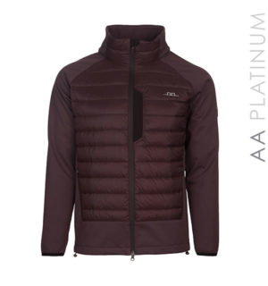 Pesaro Padded Fleece Bitter Chocolate - AA Platinum - Horseware Ireland