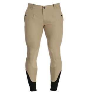 Men's Woven Breeches Beige