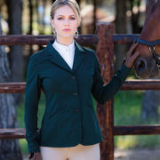 Ladies Competition Jacket Hunter Green