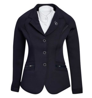 Ladies Horsewair Competition Jacket Navy