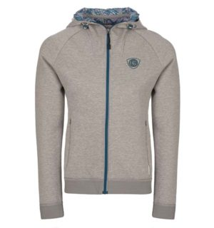 Lara Sports Hoody Light Grey