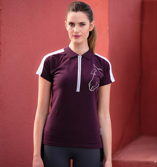 Sporty Flamboro Polo Fig