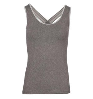 Aoife Training Tech Top Light Grey