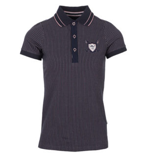 Tilly Jersey Polo Navy