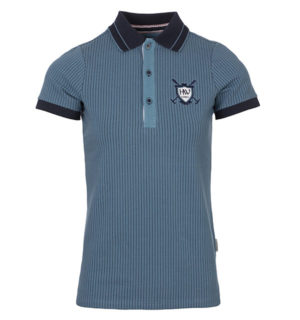 Tilly Jersey Polo Aviation Blue