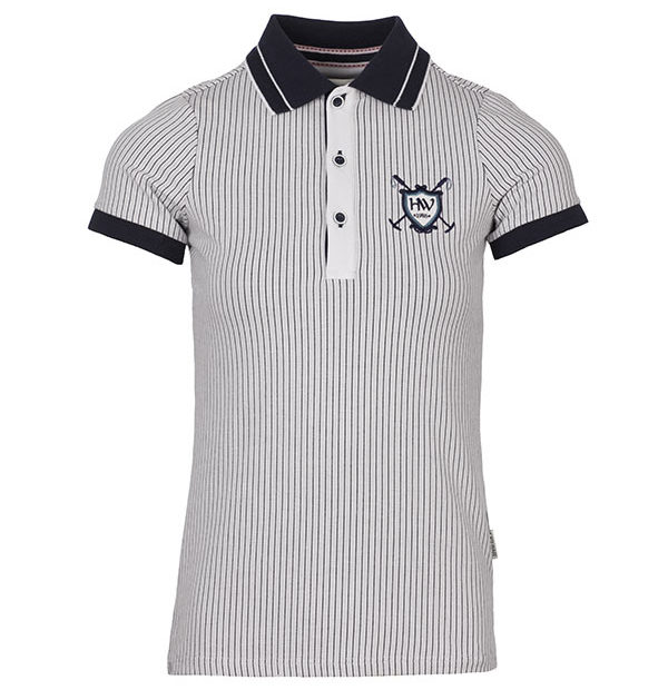 Tilly Jersey Polo White
