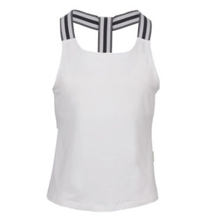 Tank Top with hidden Support White