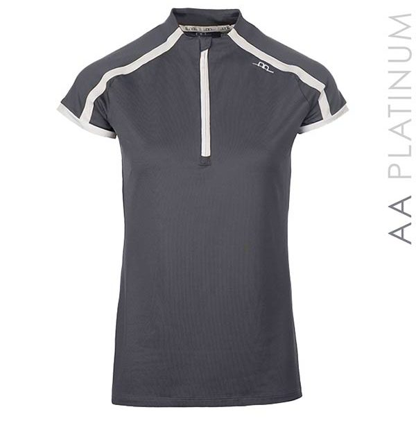 Pula Competition Technical Top Dark Grey