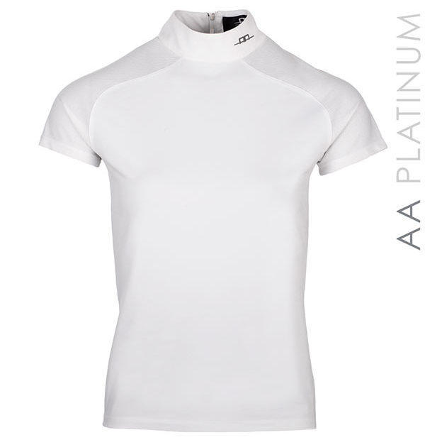Milena Technical Top White