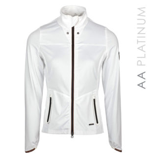 Lula Full Zip Top White
