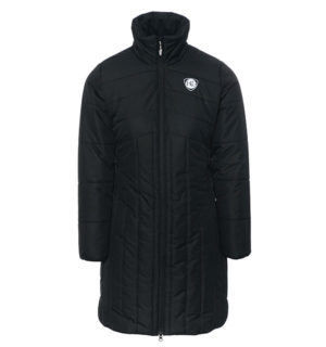 LongLine Eve Padded Jacket Raven