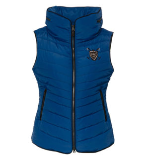 Maya Padded Gilet Imperial Blue