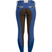 Winter Fleece Ladies Breeches Full Seat Imperial Blue