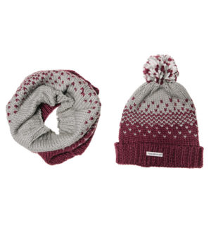 Bobble Hat and Snood
