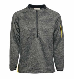 Technical Top Grey Melange