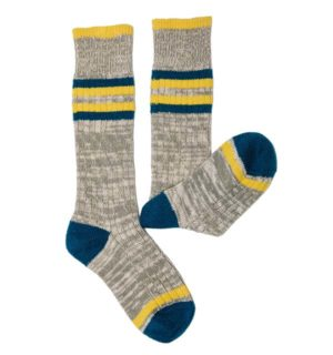 Kids Winter Woolly Socks Grey
