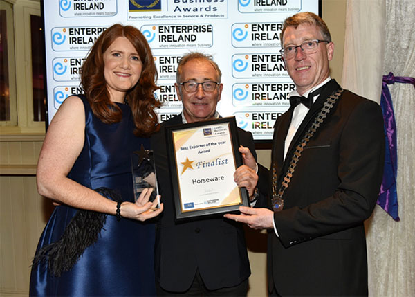 Horseware Ireland wins at the annual Louth Business Awards.