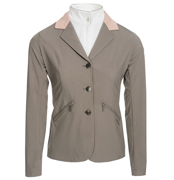 Ladies Competition Jacket Taupe