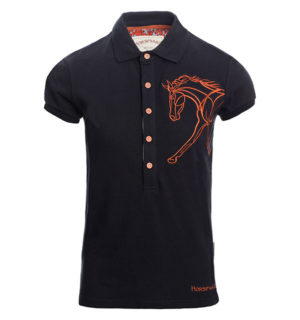 Flamboro Polo Navy - Ladies Collection