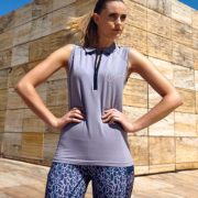Sleeveless Flamboro Sport Light Grey - Ladies Collection