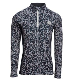 Aveen Half Zip Tech top Tech Top Animal Print - Ladies Collection