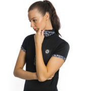 Orla Tech Polo Navy - Ladies Collection