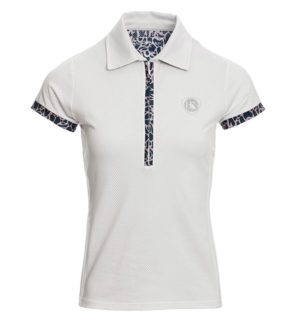 Orla Tech Polo Top White - Ladies Collection